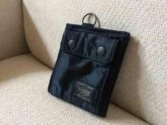 ヘッドポーター 二つ折り財布 ウォレット 吉田カバン ネイビー
