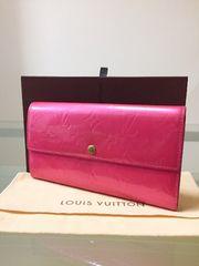 1円 ◆正規品◆ 美品 ルイヴィトン モノグラム ヴェルニ 長財布