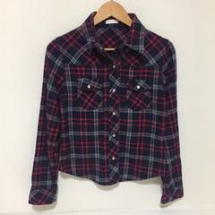 #チェックシャツ