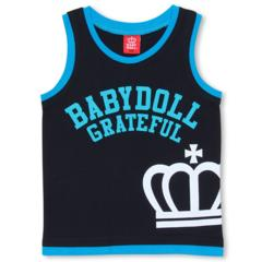新品BABYDOLL☆120 タンクトップ 黒 ベビードール