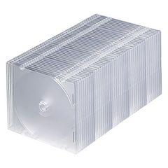 人気急上昇! 1枚収納×50 スリムBD DVD CDケース