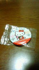 キティちゃん缶バッチきてぃサンリオ新品正規品