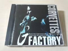 コルベッツCD「Gファクトリー G FACTORY」CORVETTES廃盤●