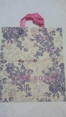 L'EST ROSE レストローズ ショップ袋(ショッパー)手さげビニール製 美品