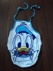 新品70〜90金太郎ドナルド夏の赤ちゃん着にディズニー西松屋