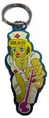 デッドストック 90sフックアップス エロアニメ 系キーチェーン看護婦看護士ナース