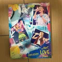 DVD 西野カナ Just LOVE Tour LIVE 2016 さいたま