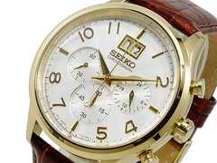 セイコー SEIKO クロノ 腕時計 SPC088P1 シルバー