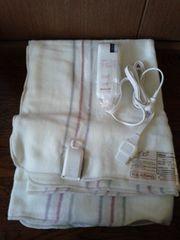 電気毛布 ナショナル DBU1S ホワイト