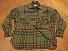 70'sビンテージ¶K-MART[Kマート]★CPOシャツジャケット メンズM/送料\300〜
