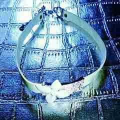 新品 Dior ディオール チョーカー ネックレス トロッター柄