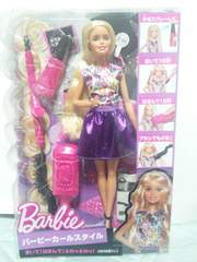 新品(即決)バービーカールスタイル人形=身長=約30Cm