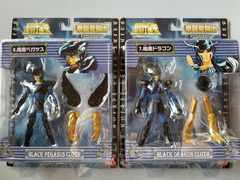 ☆バンダイ 聖闘士星矢 拳闘聖闘士 暗黒ペガサス&暗黒ドラゴン 2個セット