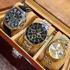 フランクミュラー・ロレックスデイトナタイプ★メンズ腕時計人気商品3個セット♪43