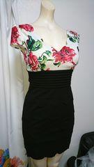 dazzy Queen  薔薇柄 ナイトドレス