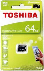 東芝 64GB microSDHCカード(マイクロSDHCカード) 読込Max100MB/s
