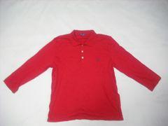 wr501 女 Ralph Lauren ラルフローレン 7分袖ポロシャツ Lサイズ