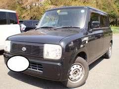 激安売り切り大人気ラパン稀少の4WD人気のブラック車検満タン