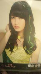 超レア!☆AKB48/恋するフォーチュンクッキー☆劇場盤生写真/横山由依☆美品!