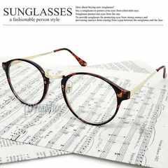 新品 ボストン型 サングラス UV 伊達眼鏡 メガネ メンズ レディースB