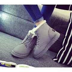 新作♪ ボア ムートンブーツ レディース ブーツ 靴 グレー