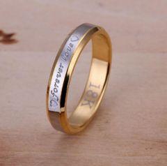 人気 個性的デザインリング 指輪 華奢リング(A-7サイズ)