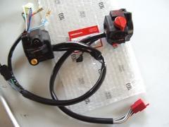 (55)CBX400F用左右ハンドルスイッチ新品H1