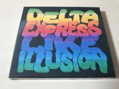 デリCD「DELTA EXPRESS LIKE ILLUSION」DELI初回盤●