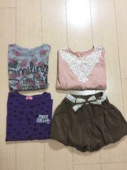 ◆ 美品 ◆ jenni 含む!  kids 洋服 ◆ 4点セット!110cmから