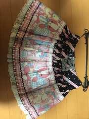 美品☆Angelic Pretty☆MELODY TOYSスカート☆黒☆ブラック