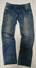 DIESEL INDUSTRY ダメージjeans 古着(used)size36