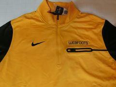 Nike Oregon Webfoots Elite Coaches Half-Zip Tops US L
