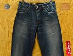 廃盤 リーバイス522-03ローライズストレートW31(83cm)・股下78cm