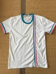 新品同様★ライン入り 半袖Tシャツ 9号