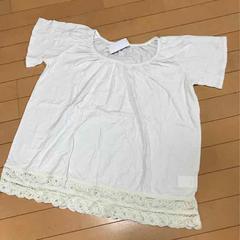 新品◆SM2◆バテンレース綿麻リネン混◆半袖カットソーTシャツ
