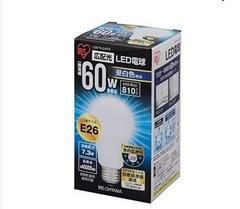 LED電球 E26口金 60W形相当 昼白色 広配光タイプ