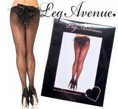 41A)LEGAVENUEラインストーンストッキング黒ブラックレッグアベニューB系セレブシスターMURUA