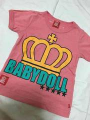 ベビードール☆Tシャツ☆100