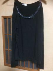 100スタセール*a.v.v*黒長袖カットソー*クリックポスト185円
