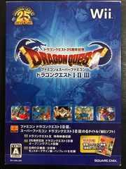 ファミコン&スーパーファミコン ドラゴンクエスト�T・�U・�V Wii