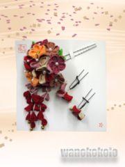 【和の志】成人式の振袖や卒業式に◇ちりめん手作り髪飾り◇29