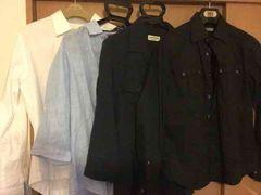 まとめ売りメゾンブランドセレクトカジュアルシャツ7枚セット