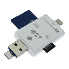 SDカードリーダー 多機種対応 PC/iPhone/スマホ
