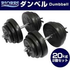 セメントダンベル20kg 2個セット(40kg)