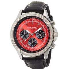 ■正規BROOKIANA クロノグラフ 24時間計 新品  セレブ時計