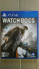 PS4ソフト ウォッチドッグス