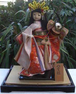 日本人形コレクション「八重垣」ガラスケース入中古品0130