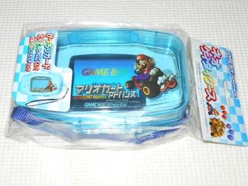 GBA★ネオケイタイケース クリアブルー マリオカートアドバンス