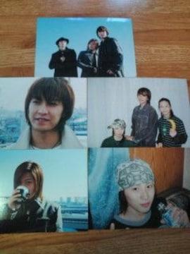 w-inds. 2004年 ファンクラブ イベント グッツ 公式写真 5枚組