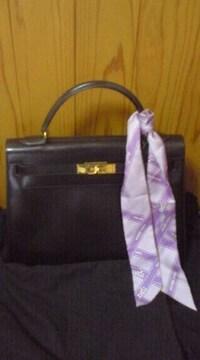 エルメスケリーバッグ32黒カーフ